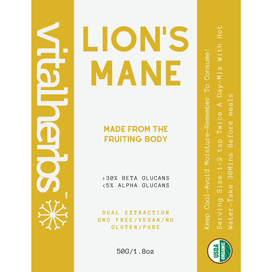 Organic Lions Mane Extract