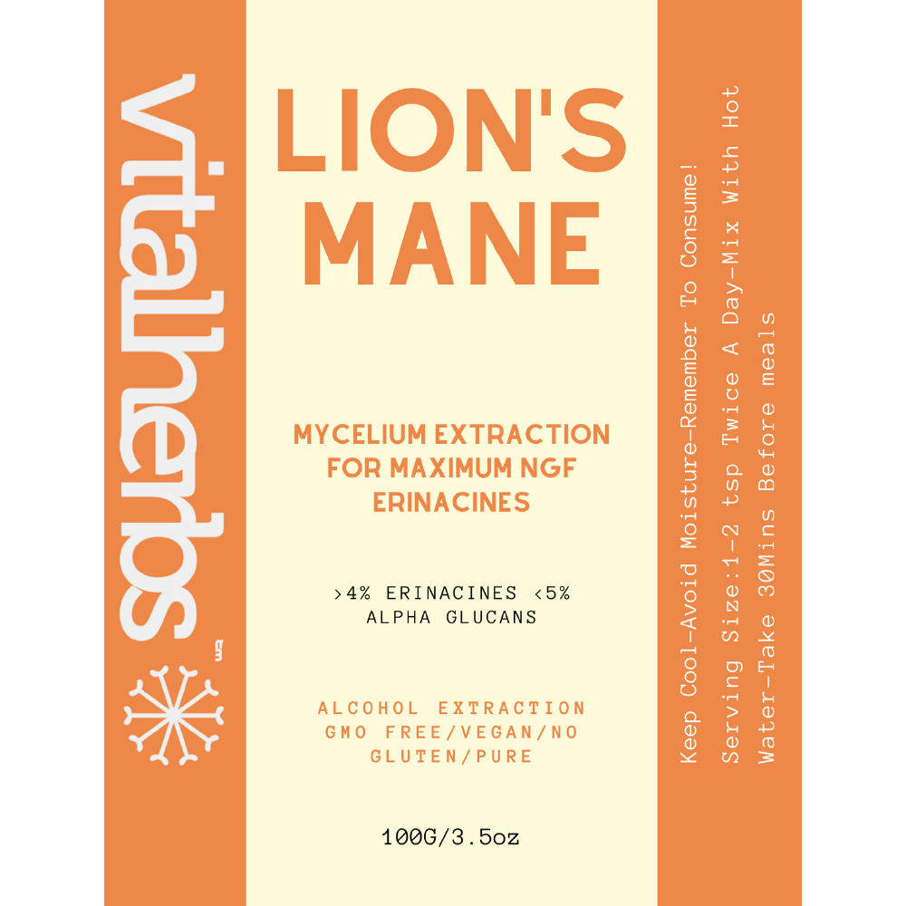 Lion's Mane Mycelium Extract Powder