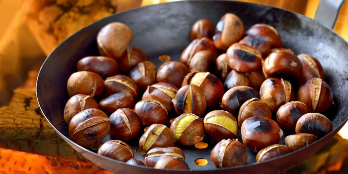 sweet chestnuts and jing